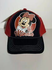 Disney Minnie Character red black Kids Adjustable Hat Cap