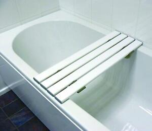 "Drive DeVilbiss  White 4 Slatted Bath Board 26"""