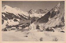 Postkarte - Mittelberg i. Kl. Walsertal