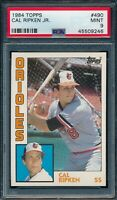 1984 Topps Set Break # 490 Cal Ripken Jr PSA 9 *OBGcards*