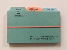 PAUL STEINER 1968 S.M.S. #6 JOHNS IN ART GALLERIES sms duchamp lichtenstein