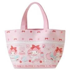 Sanrio Japan My Melody Pink Tote Bag Handbag