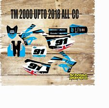 TM RACING  85 TO 450 FULL MOTOCROSS  GRAPHICS KIT MOTORCROSS  999