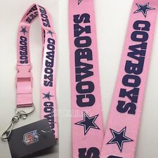 NFL Dallas Cowboys keychain Lanyard - Pick Your Color!
