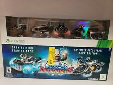New Skylanders SuperChargers Dark Edition Starter Pack - Xbox 360