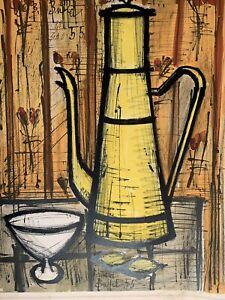 Bernard Buffet (French, 1928-1999), Cafetière Jaune (Yellow Coffee Pot)