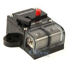 Rockford Fosgate RFCB100 Platinum Plated 100 Amp Circuit Breaker