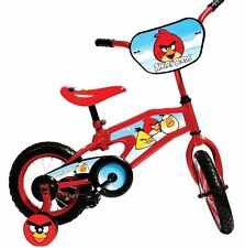Angry Birds Kid's Bike 12 in.Boys Girls Red Steel Fork Pneumatic Tires Deal New