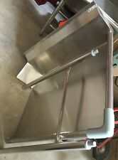 "New 36"" Right Side Dish Table Stainless Steel Nsf #4862 Gsw Nsf Washer Extension"