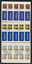 Briefmarken aus Deutschland (ab 1945) mit Sonderstempel und Blumen-Motiv