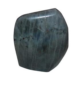 Labradorite Spectrolite Crystal Freeform. 218 grams. Blue, Purple, Pink, Flash.