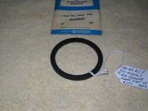 NOS Mopar 60-65 Dodge Chrysler Plymouth Air Cleaner Mounting Gasket w/6 Cylinder