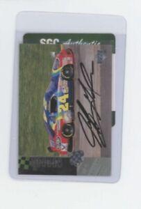 1995 Jeff Gordon #70 Autograph SGC AUTHENTIC