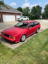 New listing  1988 Volkswagen Scirocco