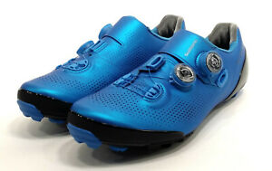 Shimano XC9 S-Phyre Mountain Bike Shoes, Blue, US 10.5 / EU 45