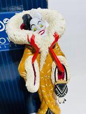 Disney Showcase 101 Dalmatians Cruella De Vil Art Deco Couture De Force Figurine