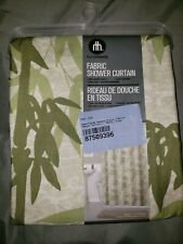 WHOLESALE LOT of 5 Hometrends Fabric Shower Curtain