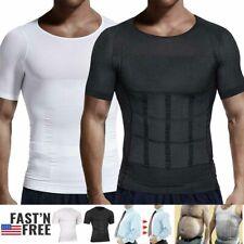 Men Slimming Shirt Gynecomastia Compression Shapewear to Hide Man Boobs Moobs TB