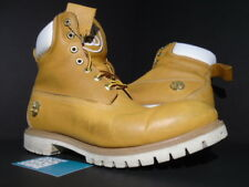 2015 TIMBERLAND 6 INCH ZIP STUSSY ZIPPER BOOT WHEAT BROWN YELLOW WHITE 6237A 11