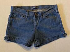 Levi's womens jean shorts size 4 medium wash flap pockets