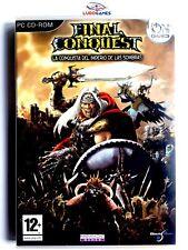 Final Conquest PC Completo Retro Videogame Perfecto Mint Condition Videojuego