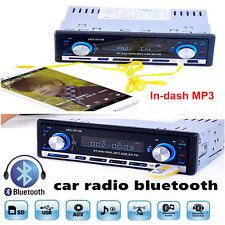 Car Stereo Audio Player Bluetooth V2.0 MP3 AUX Autoradio Radio In-Dash Receiver