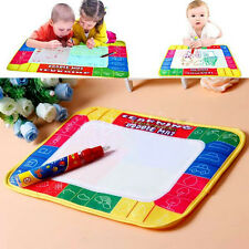 Baby Kids Toys Water Mat Drawing Painting Aquadoodle + 1 Magic Pen for Childrens