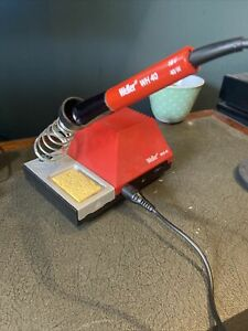 USED WELLER WHS 40 SOLDER STATION BASE And IRON 240V 40w 18v Analogue Temp Contr