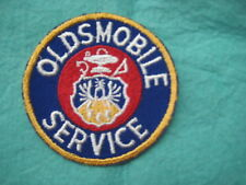 "Vintage Early Oldsmobile Service Dealer Service Patch 3"" X 3"""
