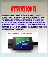 AUTODIAGNOSI OBD2-AGGIORNATA AL 2016!!! FIAT CROMA-DUCATO-DOBLO