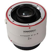Yongnuo YN-2.0X III YN2.0X III Tele Converter Auto Focus Lens for Canon EF EOS