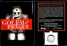 Golem of Prager Groschen Coin with Certificate and Album