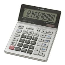 Sharp Vx2128v Desktop Calculator - 12 Character[s] - Lcd - Solar, Battery