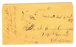 CAMP NELSON(Jessamine County)KENTUCKY-1864-SOLDIERS LETTER-CAMP