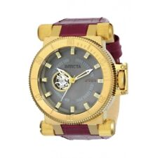 Invicta 24038 51mm Coalition Forces Automatic Open Heart Leather Men's Watch