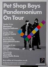 PET SHOP BOYS * PANDEMONIUM TOUR PROGRAMME w/ FLYER * 2009/10 * HTF! * YES