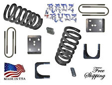 "1980-1996 Ford F100 F150 2WD 3""-5"" Lowering Kit Springs Axle Flip Kit"