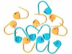 Clover ::Jumbo Locking Stitch Markers:: 12 psc