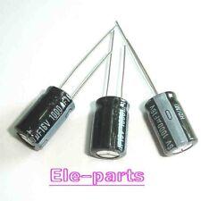 50 PCS 1000UF/16V Radial Electrolytic Capacitors 8X12mm 16v 1000uF 105°C
