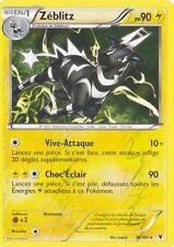 Zeblitz Reverse-Noir et Blanc:Nobles Victoires-36/101-Carte Pokemon Française