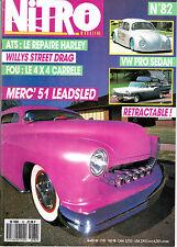 NITRO MAGAZINE N°82. 1988. VW PRO SEDAN. MERCURY 1951. CHEVROLET EL CAMINO 1965