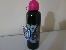 MONSTER HIGH METAL DRINK BOTTLE - SCHOOL - BRAND NEW WITH TAG -