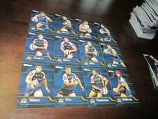 2013 NRL TRADERS NORTH QLD COWBOYS COMMON TEAM SET 12 CARDS THURSTON TATE