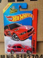 Hot Wheels 2014 - BMW E36 M3 RACE [RED] NEAR MINT VHTF CARD GOOD COMBINED POST