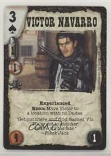 1998 Deadlands Doomtown CCG - Reaping of Souls Victor Navarro (Experienced) rs0