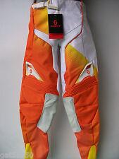 """Scott 450 Talla 34"""" Motocross Enduro Pantalones Pantalones Trail KTM SX XCF EXCF NARANJA MX"""