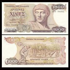 Greece 1000 Drachma 1987 Notes