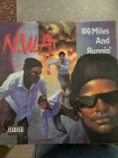 602547320667 N.W.A 100 Miles And Runnin Vinyl 3D Plattencover