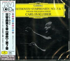 CARLOS KLEIBER-BEETHOVEN: SYMPHONIES NOS.5 & 7-JAPAN CD Ltd/Ed C41