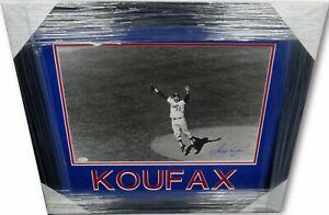 Sandy Koufax Signed Autographed 16X20 Photo Dodgers Game Winner 1963 JSA Framed